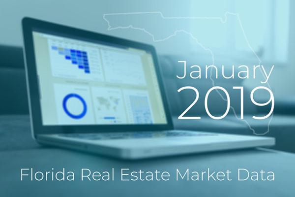 Jan 2019 Florida Real Estate Market Data