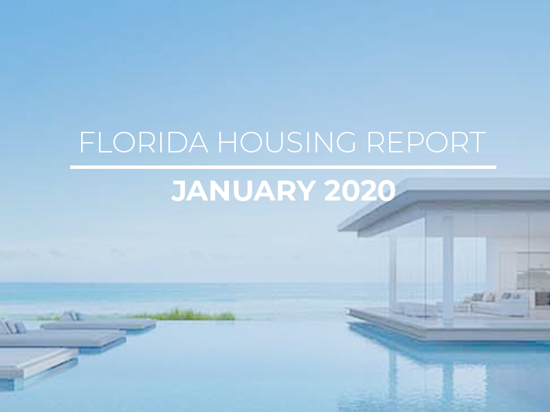 January 2020 Florida Housing Report